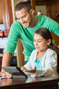 Helping your child with their homework is a good idea
