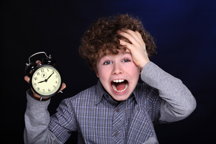 Successful time management puts an end to the last minute rush!