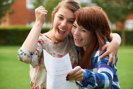 In 2015, 7 out of 10 pupils achieved A* - C grades in their GCSEs.