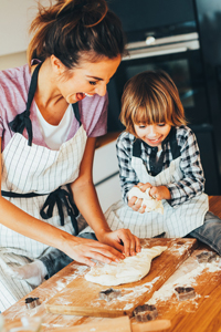 Anyone can get involved in cooking or baking