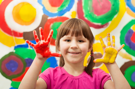 Kinaesthetic learners are hands-on and prefer subjects like art