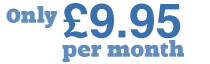Only £9.95 per month
