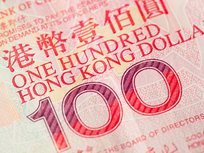One hundred Honk Kong dollars