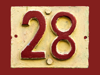 The house-number 28