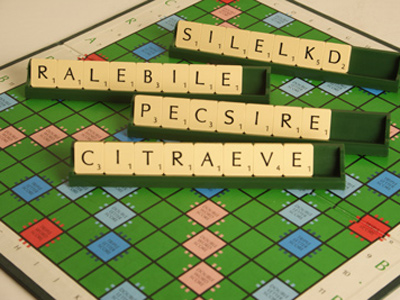 11+ Anagrams Illustration | Scrabble