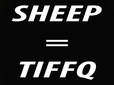 11+ Code Letters Illustration | Sheep = Tiffq