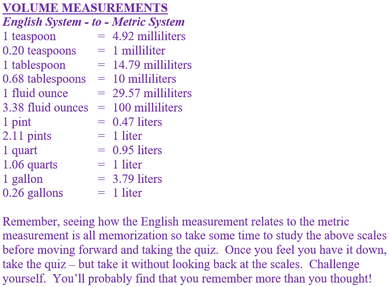 Grades 6, 7 and 8   Math   Middle School   Measurement ...