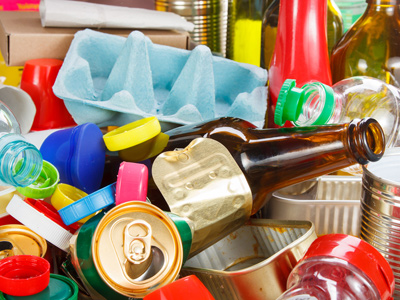 Picture of recyclable materials
