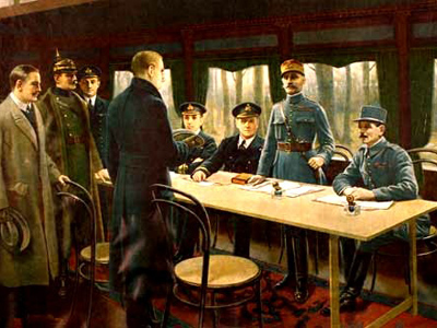 World War One: 1914-18 - The Armistice Of November 1918