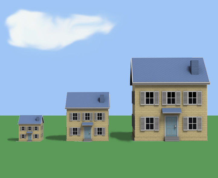 Ks1 buildings types of houses for Different kinds of homes