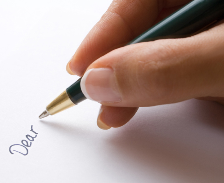 Writing a letter of application 6
