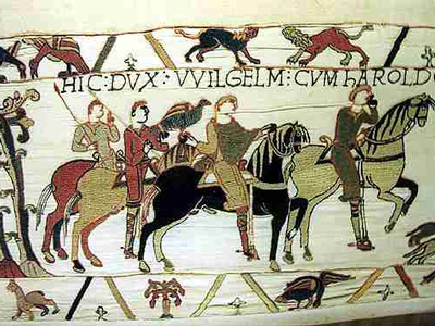 THE NORMAN CONQUEST. THE INFLUENCE OF FRENCH ON THE ENGLISH LANGUAGE. LOANS AND CALQUES.