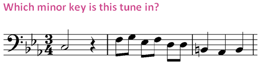 Image Result For Music Theory Minor Key Signatures Quiz