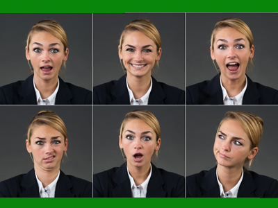 PSHE Social quiz illustration | Facial expressions