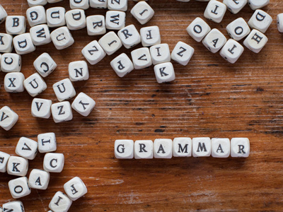 Grammar - Adjectives that Come Before Nouns