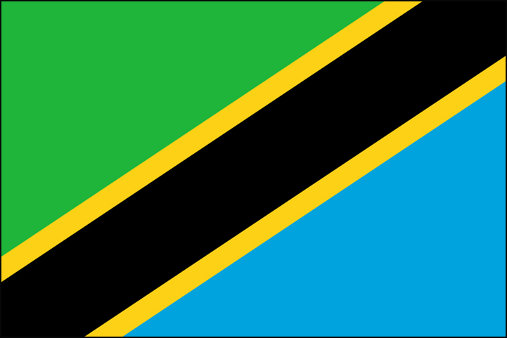 African Flag Quizzes Including Tanzania  Ghana  Niger And