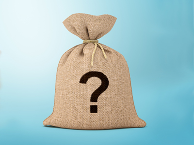 Slang Quiz Illustration | Mystery bag