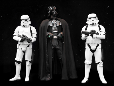 Star Wars | Darth Vader and Stormtroopers