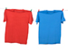 Ratio quiz illustration | Red and blue clothes