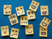 Post-it notes showing lots of emotions